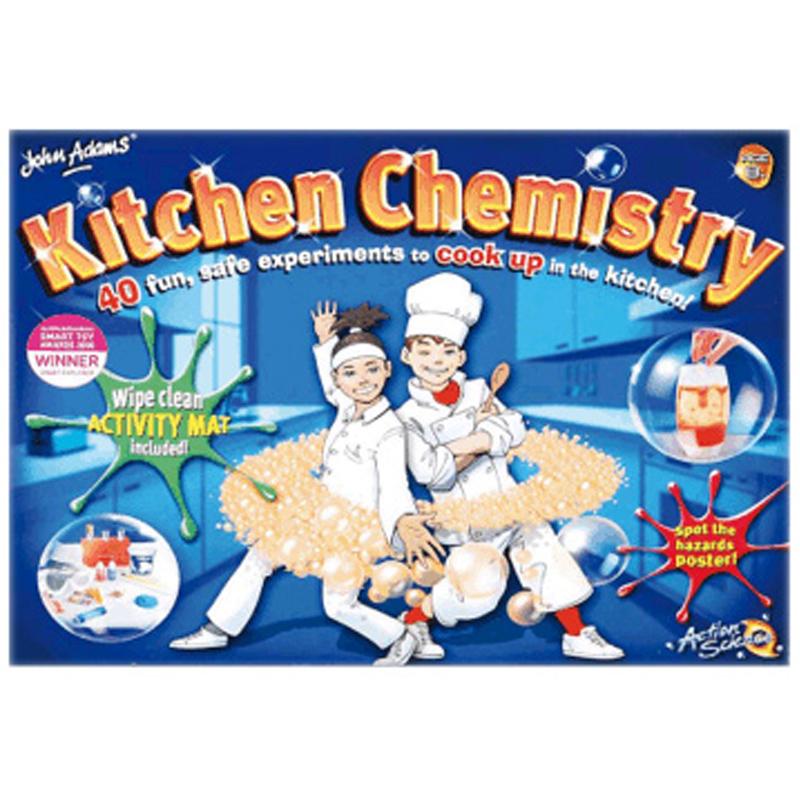 John Adams Kitchen Chemistry Set Reviews