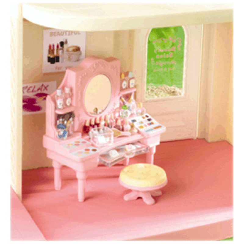Dressing table from sylvanian families wwsm for Sylvanian families beauty salon dressing table