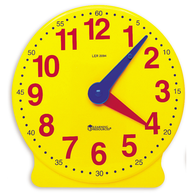 Classroom Clock Kit from Learning Resources