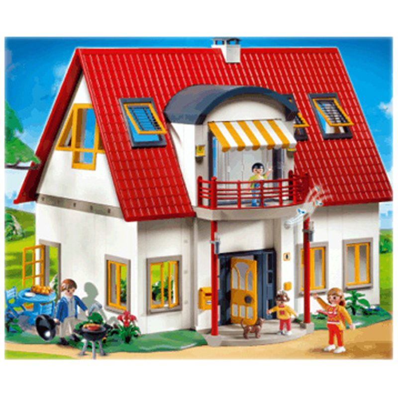 playmobil suburban city life toy shop wwsm. Black Bedroom Furniture Sets. Home Design Ideas