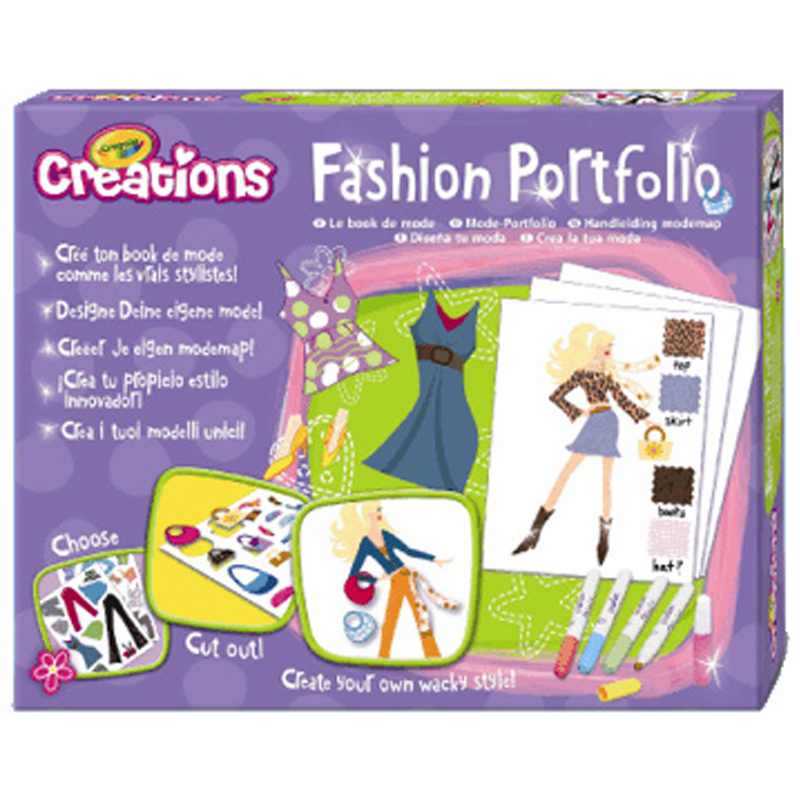 Crayola colour wonder and creations toy shop wwsm Crayola fashion design studio reviews