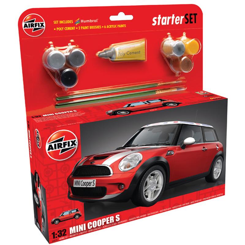 Bmw mini cooper s starter set from airfix wwsm bmw mini cooper s starter set publicscrutiny Gallery