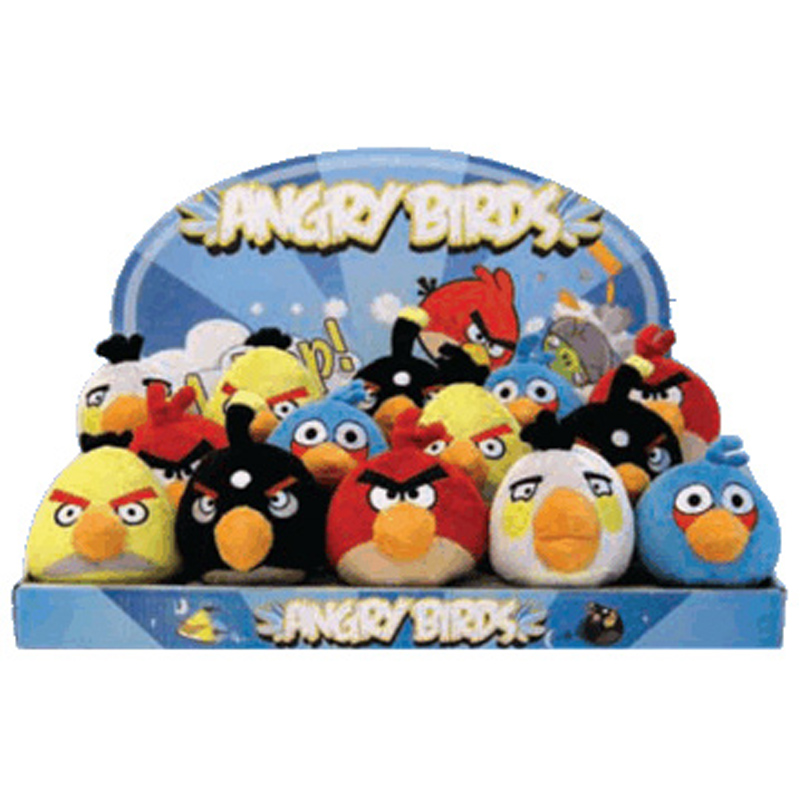Angry Birds Toys With Sound : Angry birds quot mini plush with sound assortment ebay