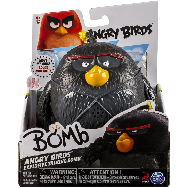 angry birds deluxe talking action figure from angry birds