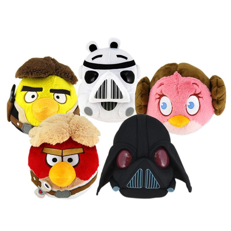 Angry Birds Star Wars 5 Plush  Leia  amazoncom