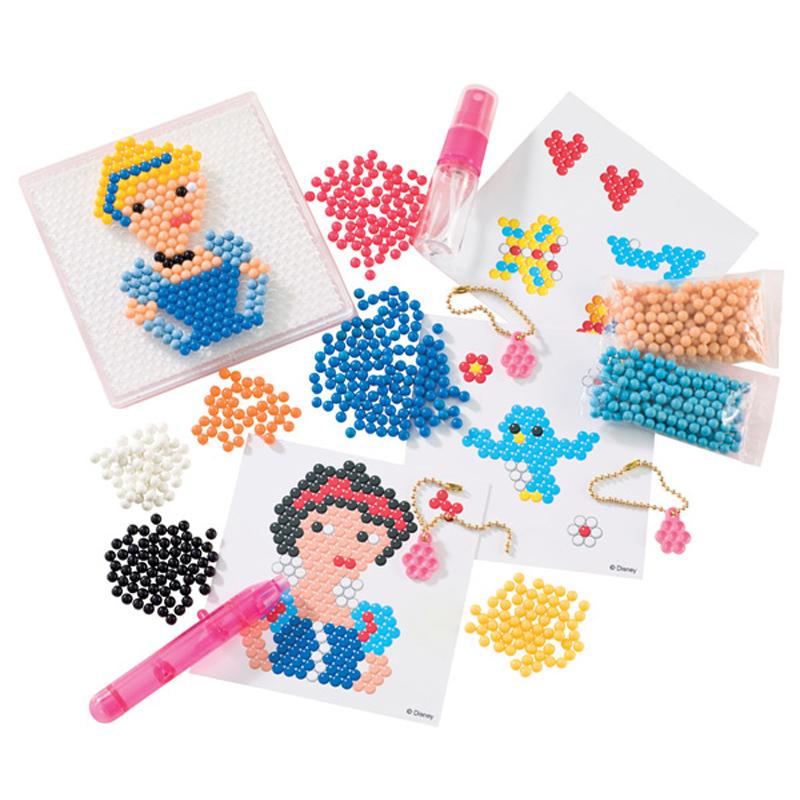 Princess Beads: Aqua Beads Disney Princess Enchanting Charms