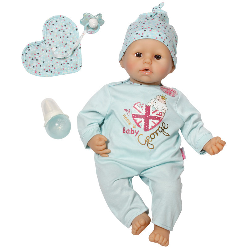 Baby Annabell Brother Baby George Doll NEW   eBay