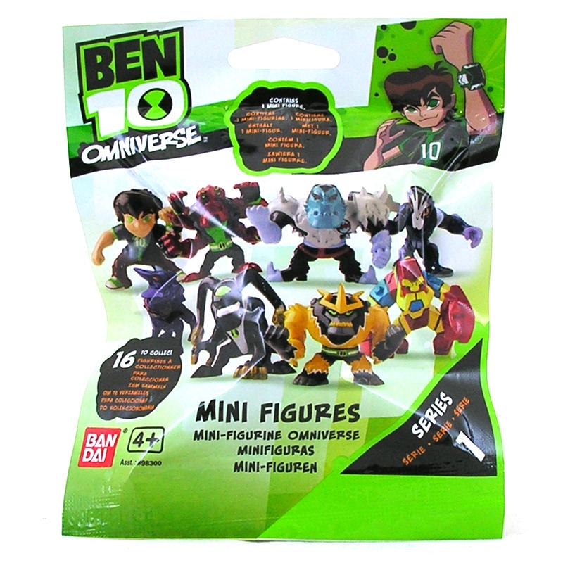 Mini Ben Ben 10 Omniverse Mini Figures