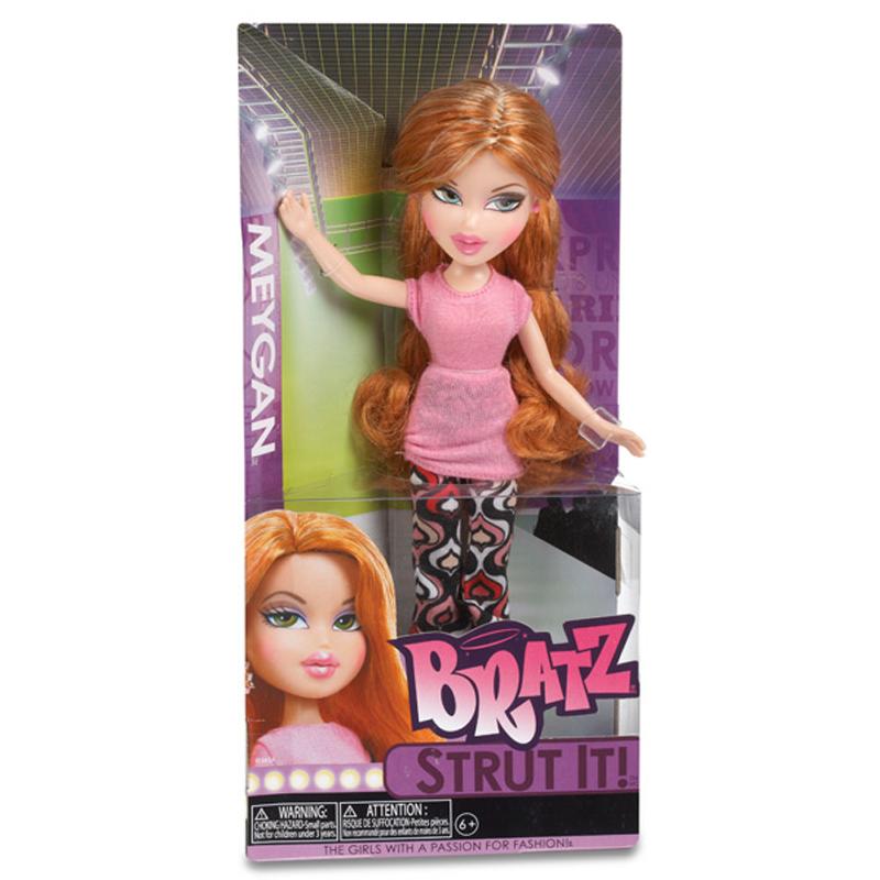 bratz strut it doll meygan great gift ebay