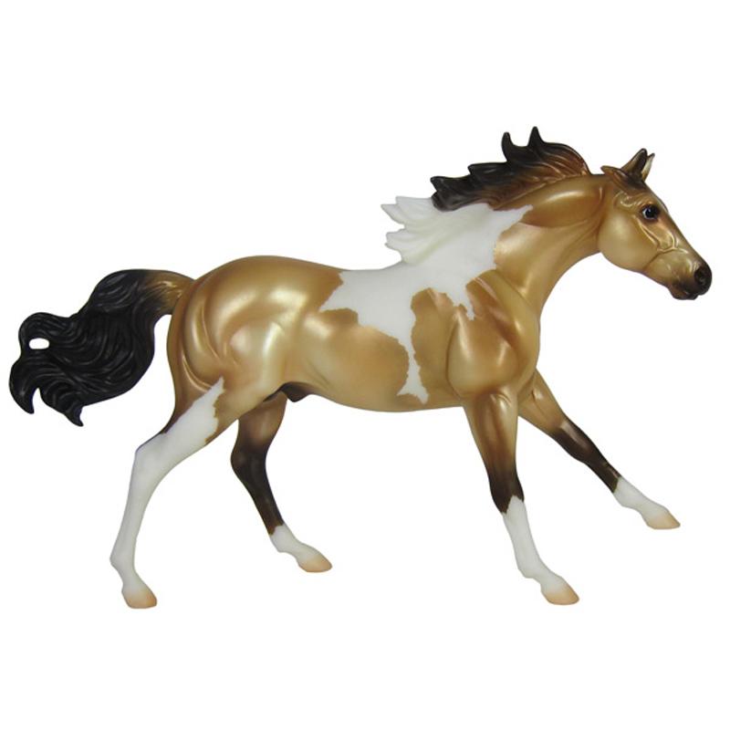 classics buckskin paint horse from breyer wwsm