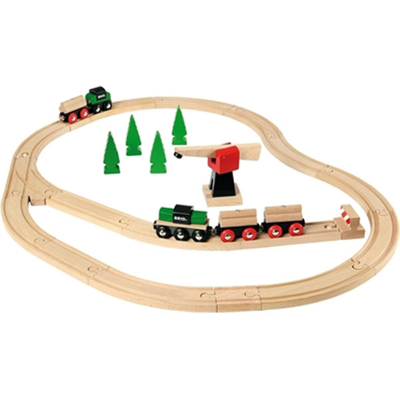 Nils: Brio wooden train set uk