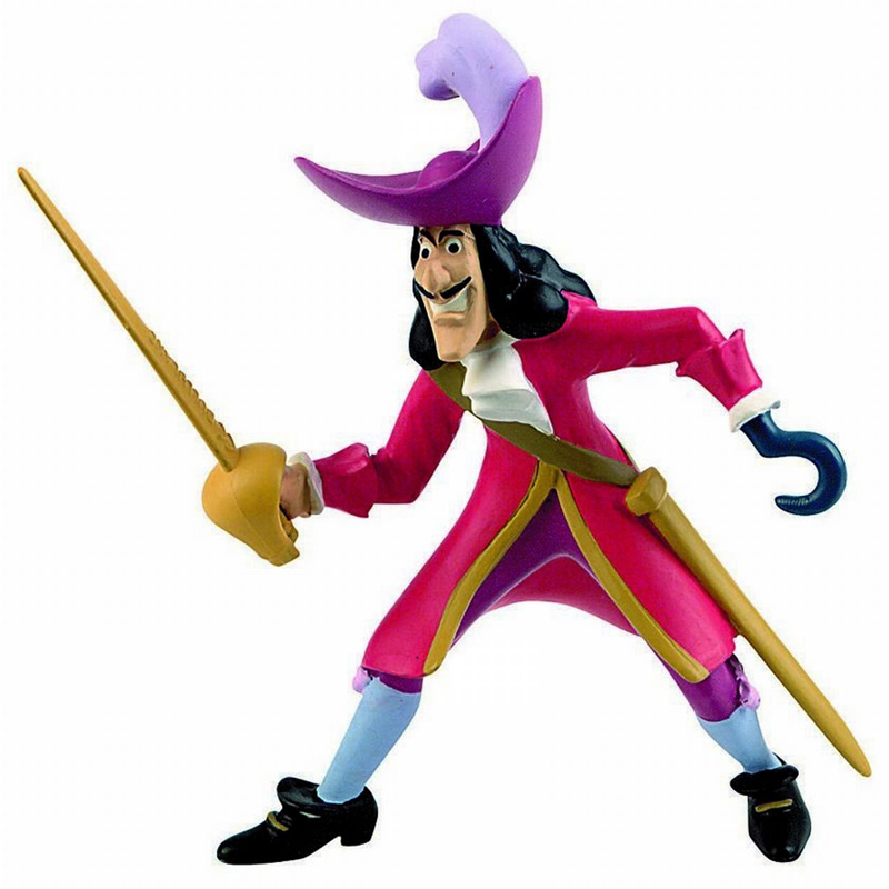 Peter Pan Toys : Disney peter pan figures from wwsm