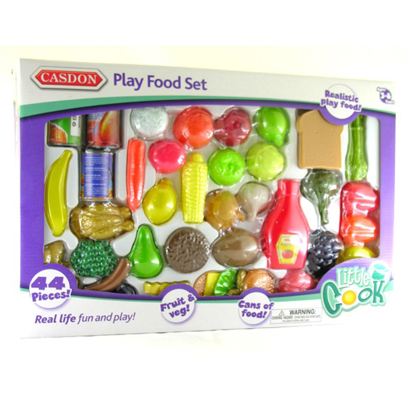 Little Food Toys : Casdon poco cook play set alimentare ebay