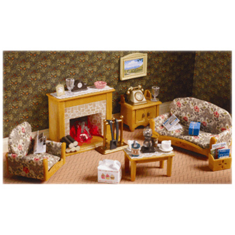 Sylvanian families furniture toy shop wwsm - Country living room furniture sets ...