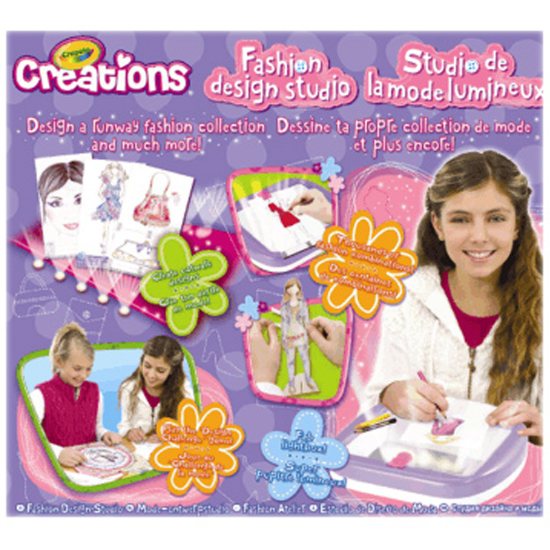 Fashion design studio from crayola wwsm Crayola fashion design studio reviews