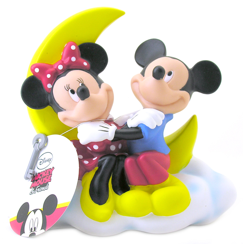 Mickey Mouse Toys : Mickey minnie mouse money bank from bullyland wwsm