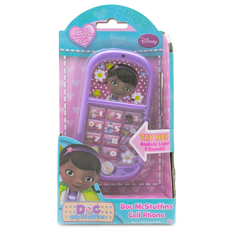 Doc McStuffins Cell Phone from Disney   WWSM