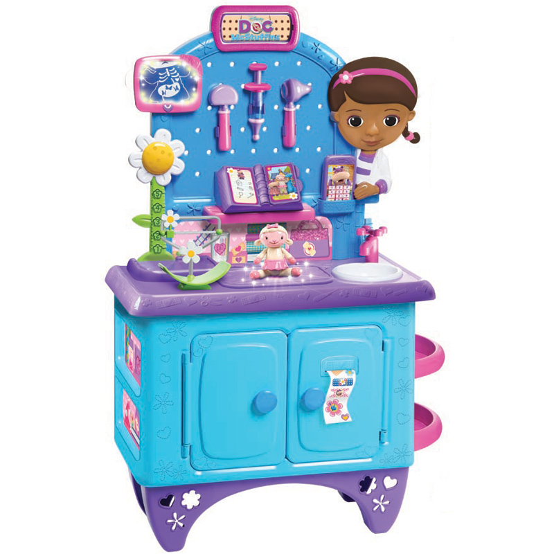 Doc Mcstuffins Check Up Centre With Accessories New Ebay