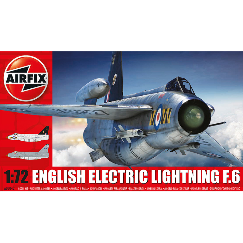 Airfix English Electric Lightning F.6 (Scale 1:72) Model