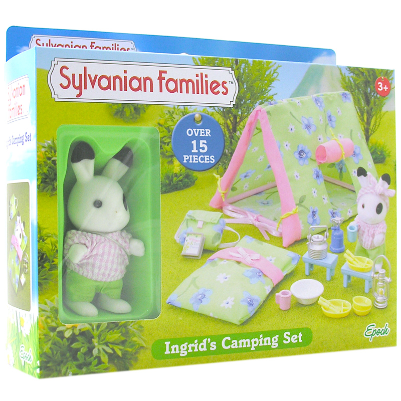 Ingridu0027s C&ing Set. Free Delivery. Sylvanian Families ...  sc 1 st  World Wide Shopping Mall : sylvanian families tent - memphite.com