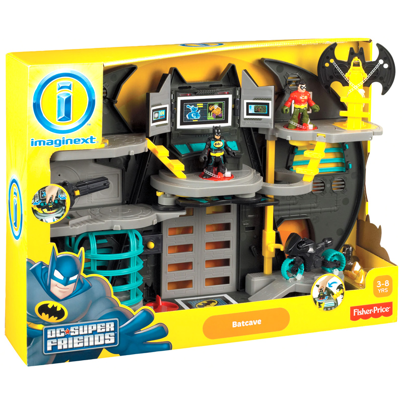 Fisher Price Batman Toys : Imaginext batman s bat cave from fisher price wwsm