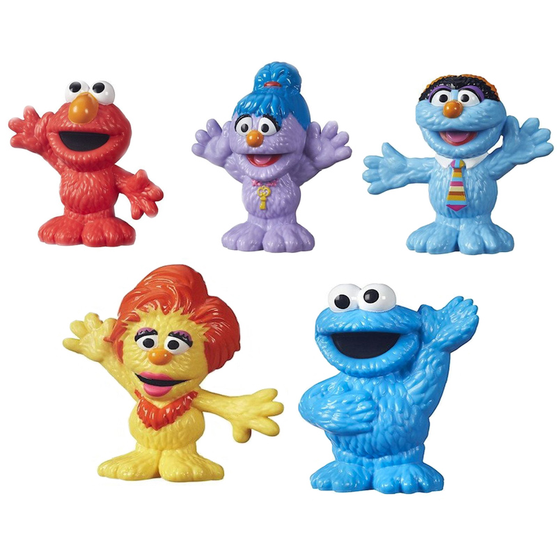 Furchester Sesame Street Single Figures Assorted from ...