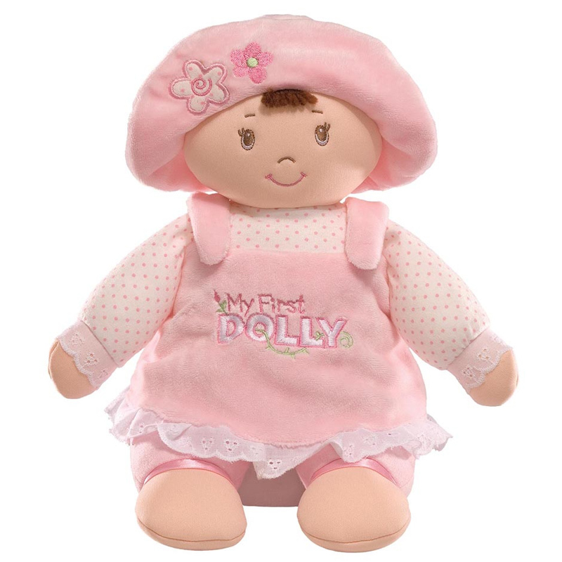 My First Dolly Brunette From GUND