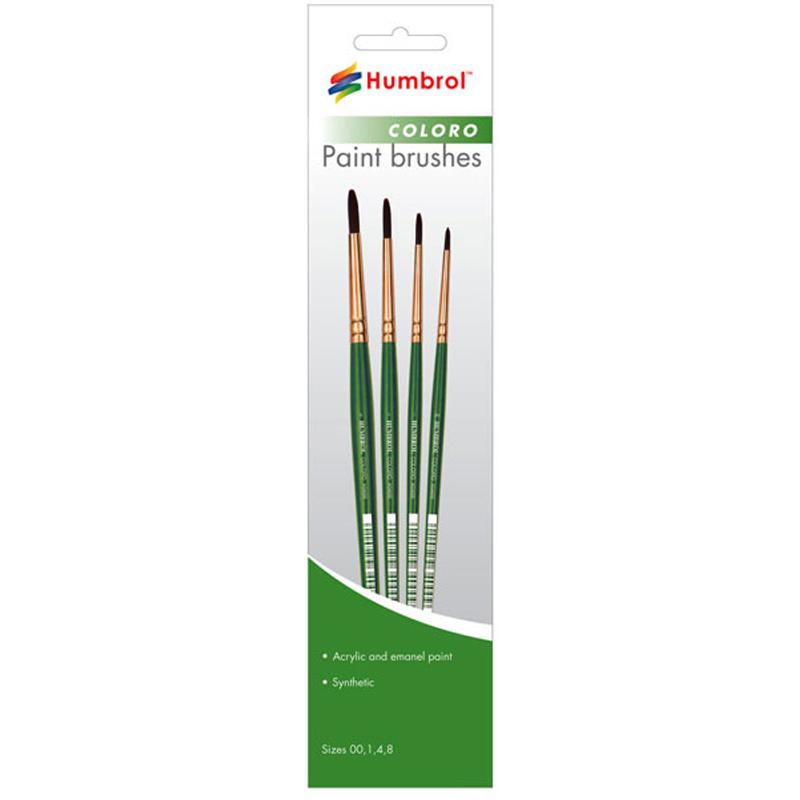 Humbrol Paint Brushes