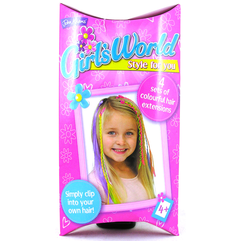 Toys For Hair : Girls world style for you from john adams wwsm