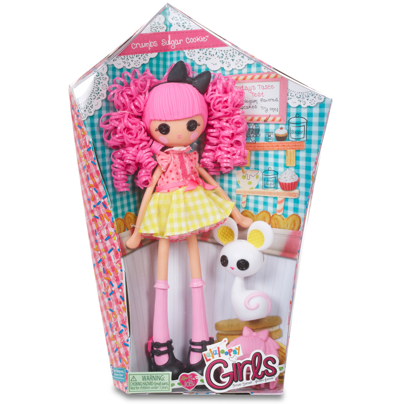 Lalaloopsy is an American line of plastic rag dolls from MGA Entertainment. Originally released in as Bitty Buttons, but the brand name was changed to Lalaloopsy shortly after launch. They began to grow in popularity during the holiday season in