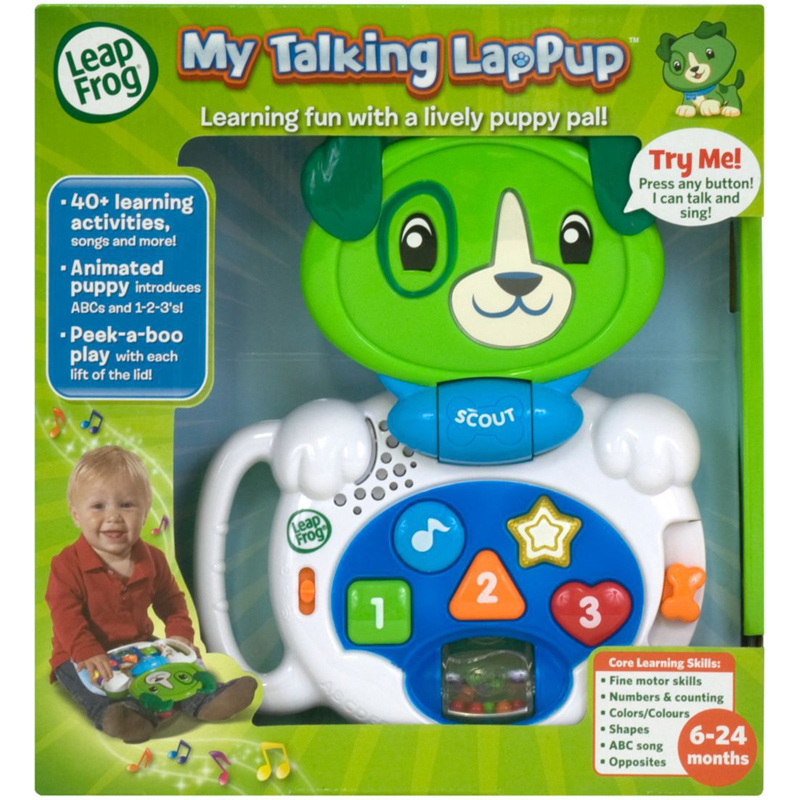 leapfrog my pal scout instructions