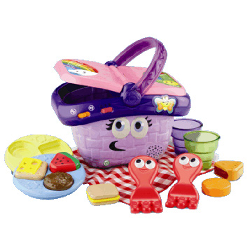 Toy Picnic Basket : Shapes sharing picnic basket from leapfrog wwsm