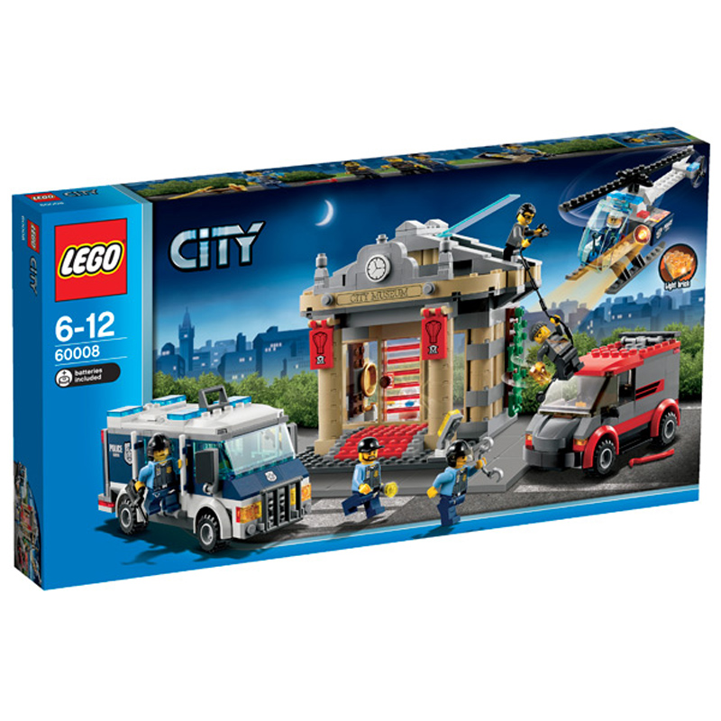 Lego City Toys : Police museum break in from lego wwsm