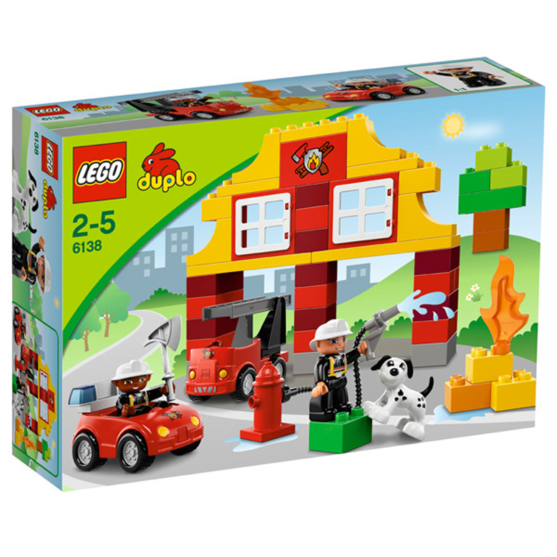 Lego duplo brick themes my first fire station