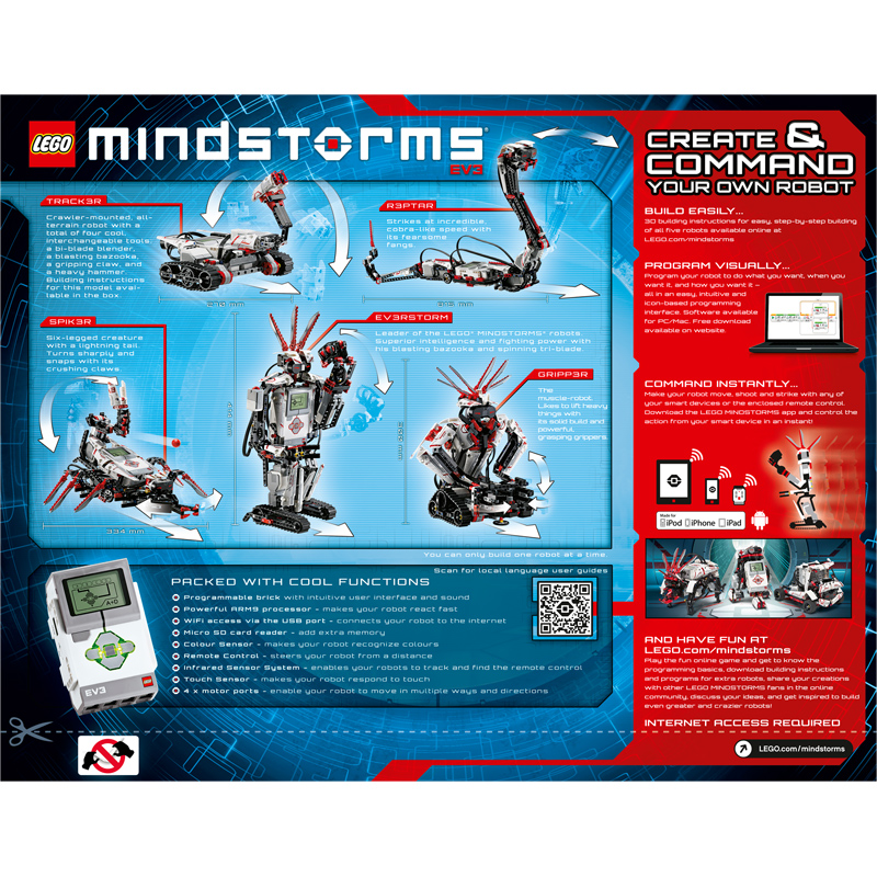 Mindstorms EV3 from Lego | WWSM
