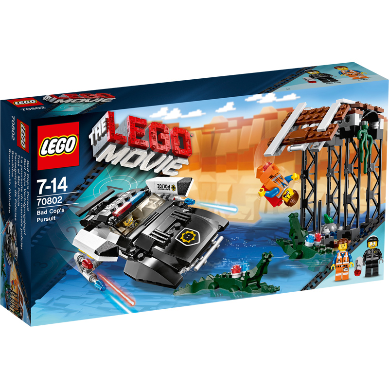 Flying Car For Shopping Mall For Sale >> The LEGO Movie Bad Cop's Pursuit 70802 | eBay