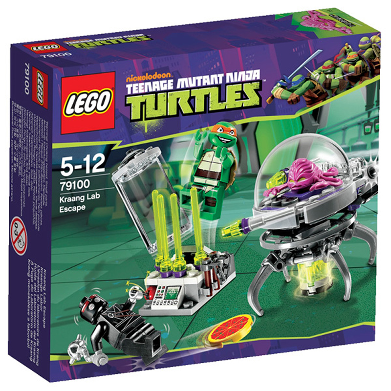 Lego Teenage Ninja Turtles Toys : Lego ninja turtles kraang lab escape from wwsm