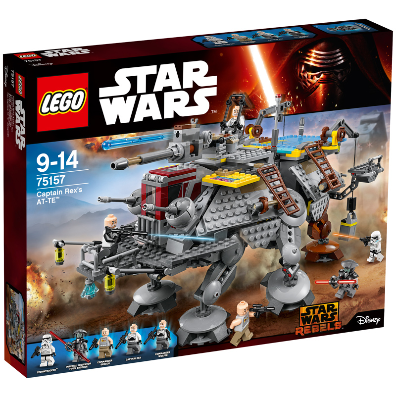 lego star wars captain rex 39 s at te 75157 new ebay. Black Bedroom Furniture Sets. Home Design Ideas