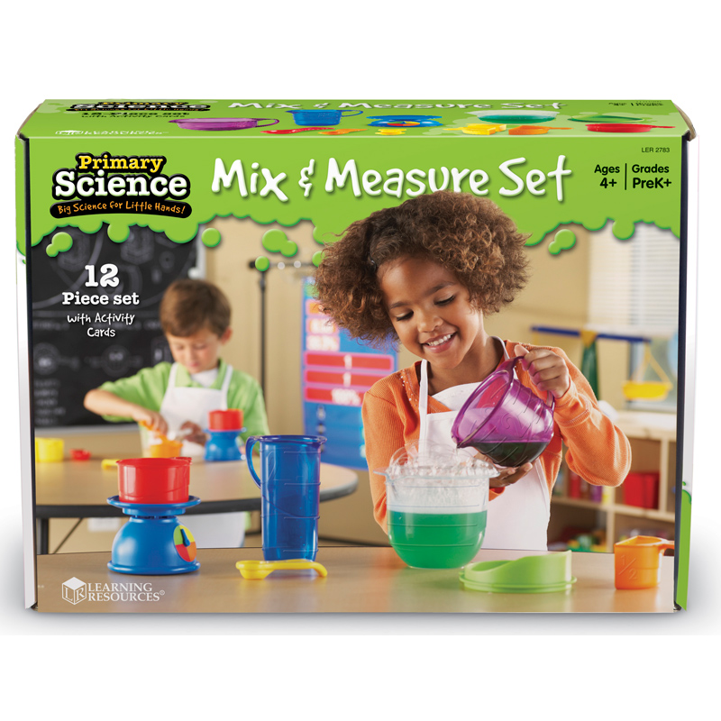 Science Educational Toys : Primary science mix measure set from learning resources