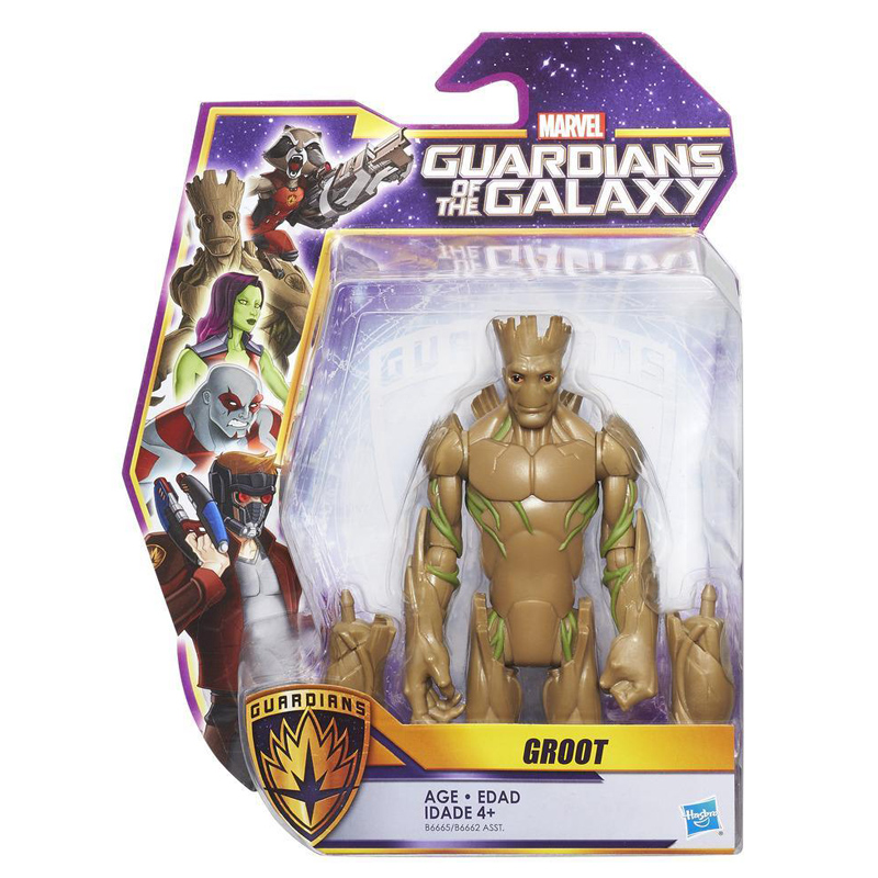 Guardians of the galaxy 6 inch figures assorted from a b for Galaxy toys