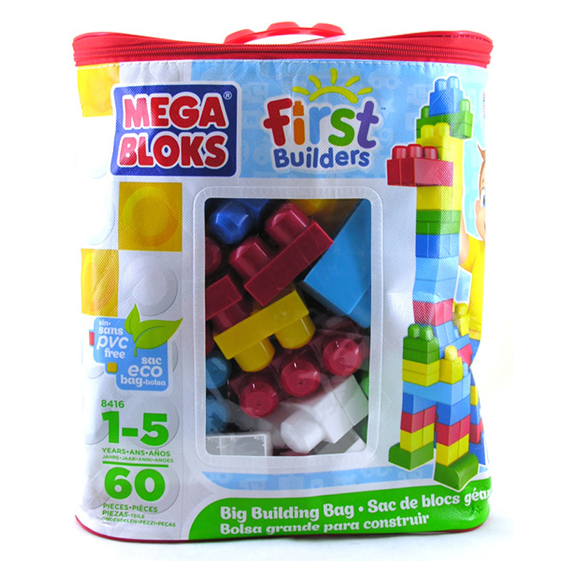 Mega bloks first builders building bag from mega bloks wwsm for Builders first