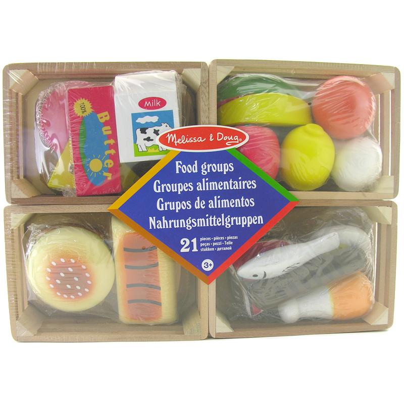 Melissa Doug Food Groups Set Ebay
