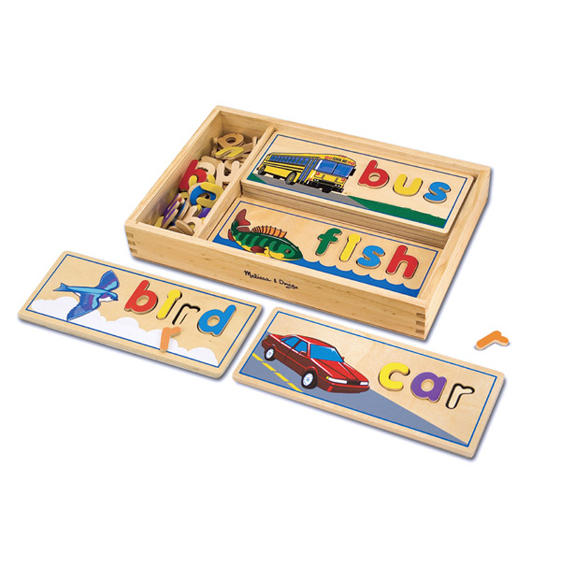 Melissa And Doug Toys : See and spell from melissa doug wwsm