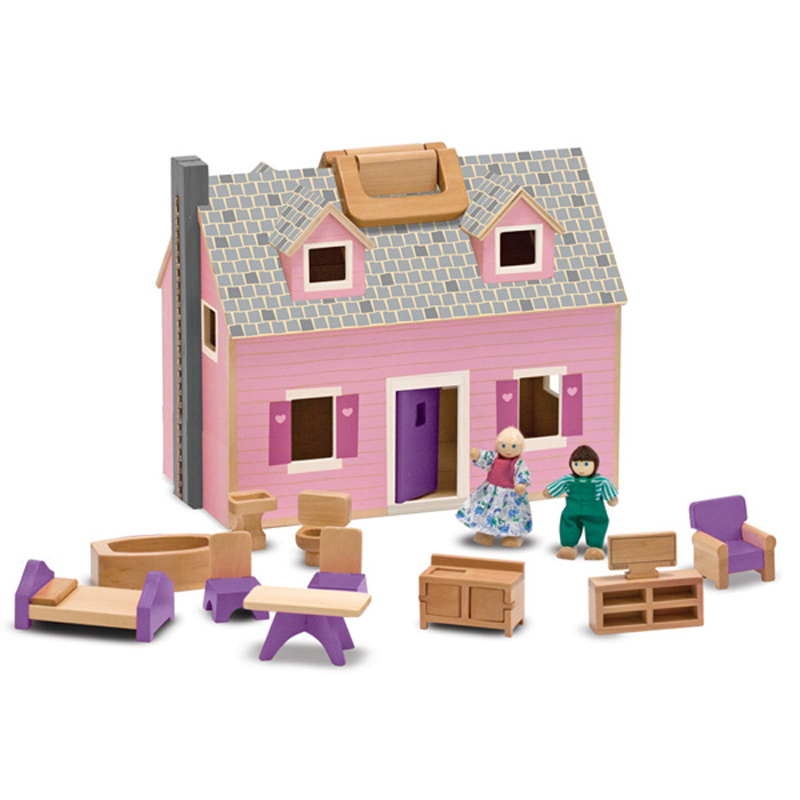 Fold Go Dollhouse From Melissa And Doug Wwsm