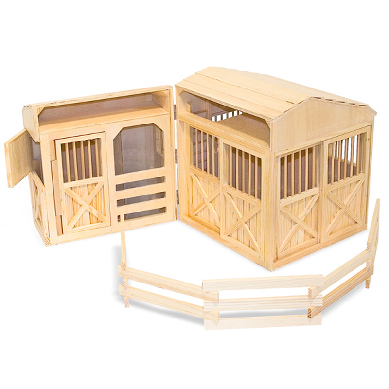 Folding Horse Stable From Melissa And Doug WWSM
