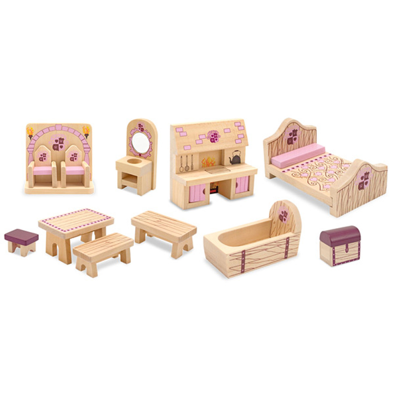 Princess Castle Furniture Set From Melissa And Doug Wwsm