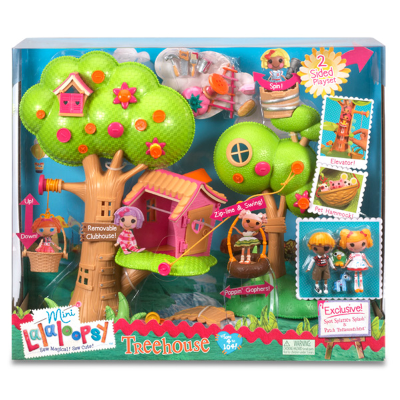 Outdoor Tree House Play Set - House Design And Decorating ...