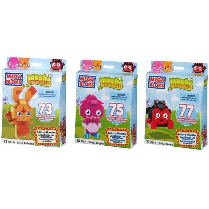Moshi Monsters Build a Monster from Moshi Monsters
