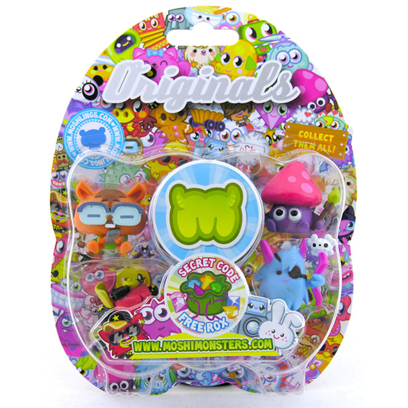 Moshi monsters collectables from moshi monsters wwsm