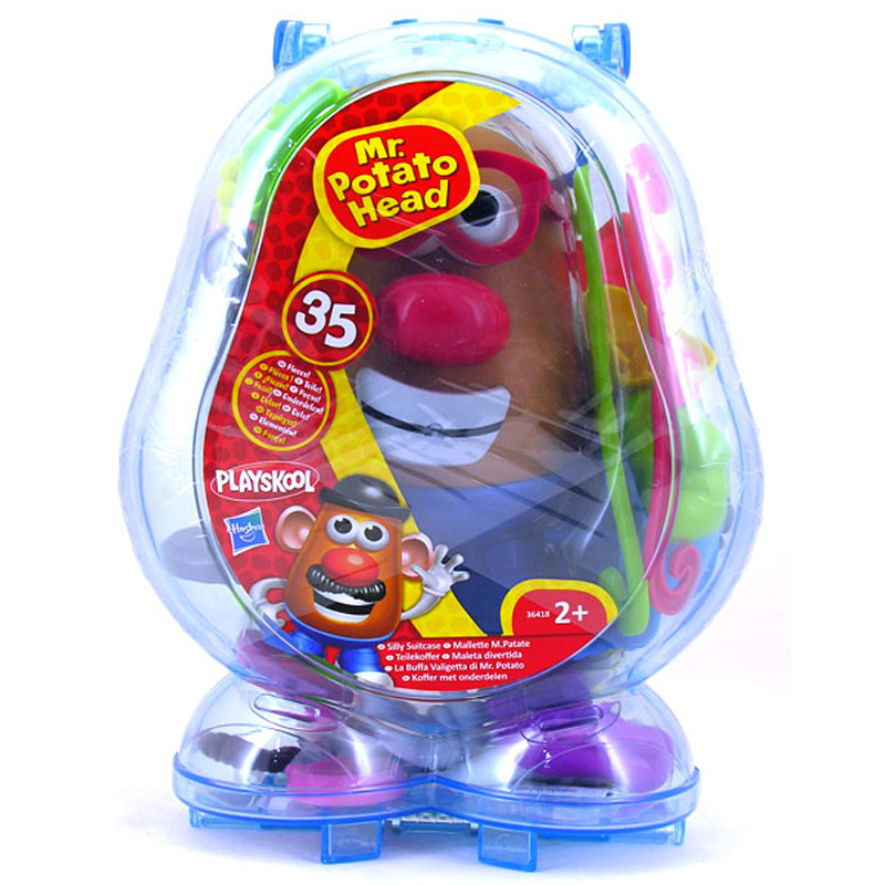 Mr potato head silly suitcase from playskool wwsm